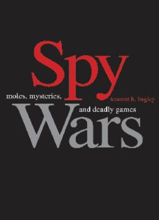 Spy wars : moles, mysteries, and deadly games