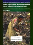 Gender Mainstreaming in Poverty Eradication and the Millennium Development Goals: A Handbook for Policy-Makers and Other Stakeholders (New Gender Mainstreaming in Development Series)