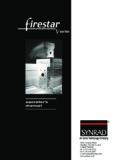 Firestar v-Series Operator's Manual