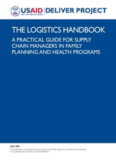 The Logistics Handbook: A Practical Guide for Supply Chain
