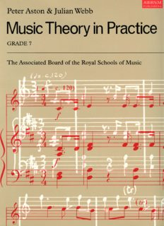 Music Theory in Practice, Grade 7 (Music Theory in Practice)