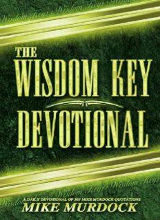 The Wisdom Key Devotional