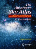 The Observer's Sky Atlas: With 50 Star Charts Covering the Entire Sky, Third Edition