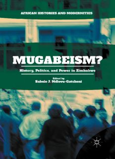 Mugabeism?: History, Politics, and Power in Zimbabwe