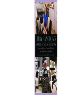 Libby Langdon's small space solutions : secrets for making any room look elegant and feel spacious on any budget