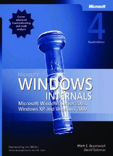 Microsoft Windows Internals, Fourth Edition: Microsoft Windows