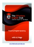 Powerful English Speaking, Download Now - Effortless English