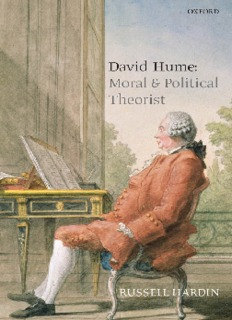 Hardin – David Hume Moral and Political Theorist Oct 2007