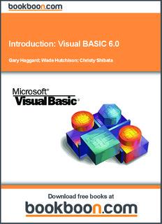 Introduction: Visual BASIC 6.0 - UPB