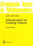 Page 1 J.H. van Lint Introduction to Coding Theory Third Edition is §). Springer Page 2 Graduate ...