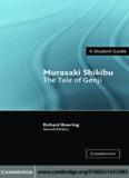 Murasaki Shikibu: The Tale of Genji (Landmarks of World Literature (New))