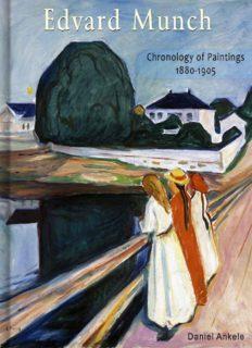 Edvard Munch: Chronology of Paintings 1880-1905