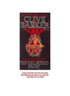 Barker, Clive - The Hellbound Heart