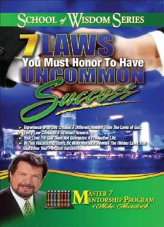 7 Laws You Must Honor to Have Uncommon Success