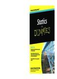 Statics for dummies by James H Allen