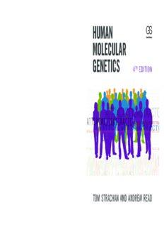 Human Molecular Genetics, Fourth Edition True PDF