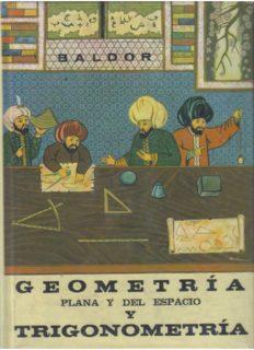 Geometria y Trigonometría de Baldor