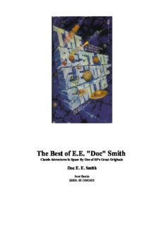 The Best of E.E. ''Doc'' Smith