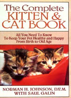 Complete Kitten and Cat Book