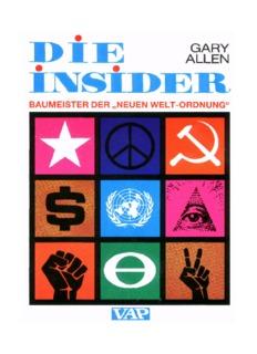 Gary Allen: Die Insider - Baumeister der Neuen Welt - William Tell