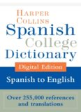 HarperCollins Spanish-English College Dictionary (Harper Collins Spanish College Dictionary)