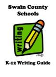 Swain 2009-10 K-12 Writing Guide - Swain County Schools