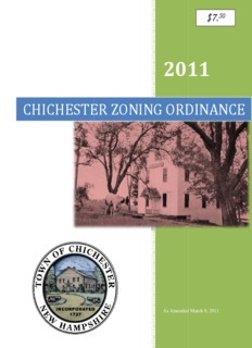 chichester zoning o chichester zoning ordinance oning ordinance