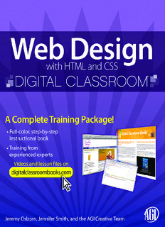 Download Web Design with HTML and CSS In Pdf