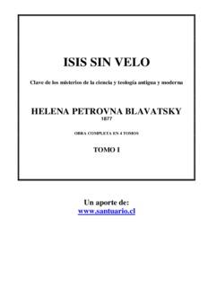 HELENA PETROVNA BLAVATSKY - eruizf.com