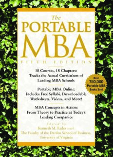 The Portable MBA, Fifth Edition