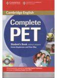 Cambridge English Complete PET Student's Book 2014