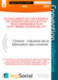Ciment : industrie de la fabrication des ciments