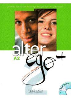 Alter Ego + 2 :méthode de français - Livre de l'élève