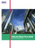 IFRS IN PRACTICE 2018 / IFRS 9 Financial Instruments