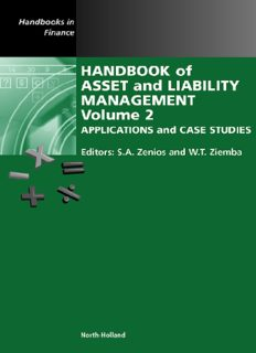 Handbook of Asset and Liability Management, Volume 2: Applications and Case Studies (Handbook of Asset and Liability Management) (Handbook of Asset and Liability Management)