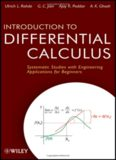 Introduction to differential calculus : systematic studies with engineering applications