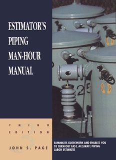 Estimator's Electrical Man-Hour Manual, Third Edition (Estimator's Man-Hour Library)