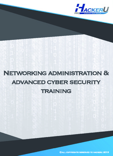 Networking administration & advanced cyber security training