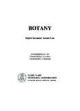 BOTANY Higher Secondary Second Year - Textbooks Online