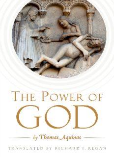 The Power of God: by Thomas Aquinas