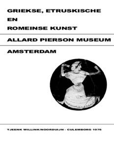 griekse, etruskische en romeinse kunst allard pierson museum amsterdam
