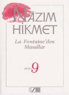 La Fontaine'den masallar : şiirler 9