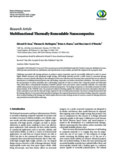 Research Article Multifunctional Thermally Remendable Nanocomposites - Hindawi