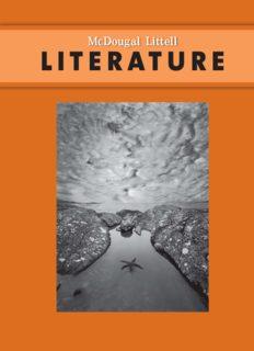 McDougal Littell Literature, Grade 9 – Student Textbook (2008)