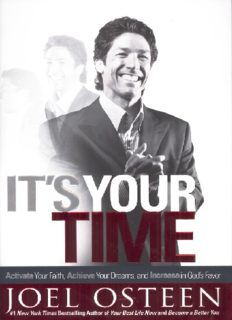 It's Your Time!