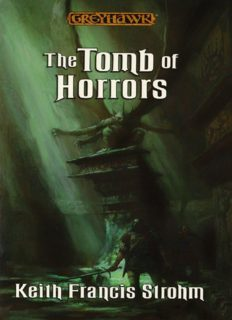 The Tomb of Horrors - Keith Francis Strohm