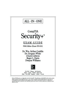 CompTIA Security+ All-in-One Exam Guide (Exam SY0-501)