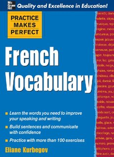 Download French Vocabulary In Pdf