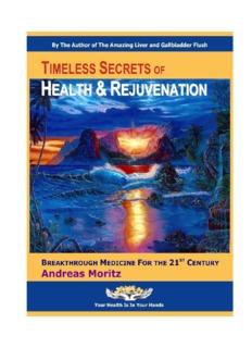 Timeless Secrets of Health & Rejuvenation