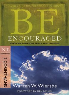 Be Encouraged. God Can Turn Your Trials into Triumphs